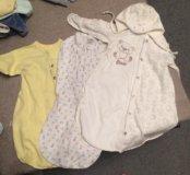 Детская одежда от 0 до 6 месяцев