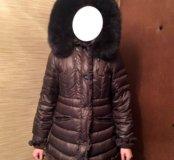 Очень тёплое женское зимние пальто пуховик НОВОЕ