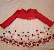 Платье на праздник 92-98