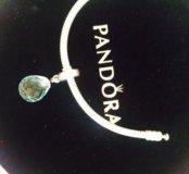 шарм Pandora оригинал гранённое Муранское стекло