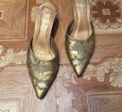 Женские туфли-сабо р37👠👠👠👠👠