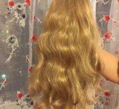 Шиньён из длинных волос Блонд