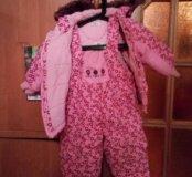 Зимний комплект Комбинезон + куртка
