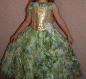 Праздничное платье на Новый год для девочки