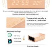 Bluetooth колонка натуральный бамбук