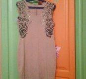 Платье бу р 46