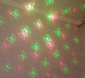 Светильник праздничный лазерный