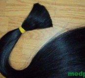 Натуральные волосы, славянка. Цвет Черный