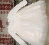 Платье для девочки, 80 р б/у