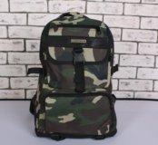 Рюкзак камуфляжный зелёный