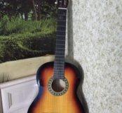 Гитара акустическая + чехол