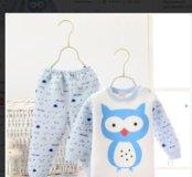 Детская тёплая пижама