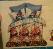 Комплект постельного белья  детского человек паук