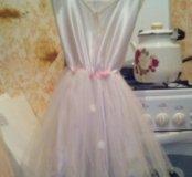 Платье с юбкой пачкой