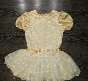 Красивое платье на 2-3 годика