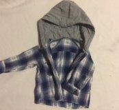 Детская одежда для мальчика, рубашки 2 шт