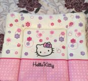 Пеленальный матрасик Ceba Baby 70х85 Hello Kitty