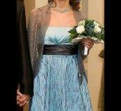 Сумочка, платье, украшение для волос (свадьба, нов