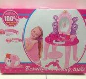 Столик для девочки на батарейках. Новый