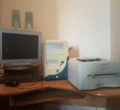 Процессор для компьютера в рабочем состоянии