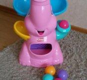Слоник-фонтан Playskool розовый