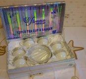 Новый чайный набор фарфор 12 предметов, Florance