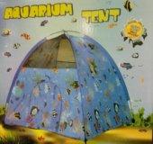 Новая игровая палатка-домик + 100 разноцветных мяч