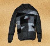 Пуловеры (свитера) теплые из нежного кид мохера