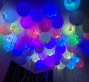Светящиеся гелиевые шарики на НГ