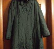 Пальто,внутри подстежка кролик