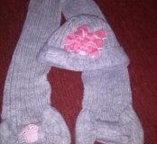Шарпа с шарфиком