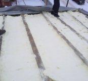 Утепления крыш стен
