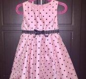 Платье праздничное на девочку 4-6 лет