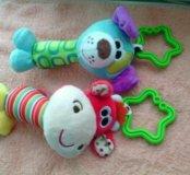 Новые игрушки-прорезыватели