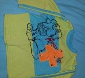 Кофточка+рубашка