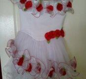 Платье детское 3-4 года