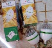 Светодиодная новогодняя лампа