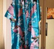 Новый халат легкий. Размер 4xl