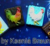 Мыло ручной работы от Ксении Браун!