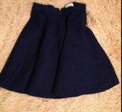 Кашемировая юбка(новая)