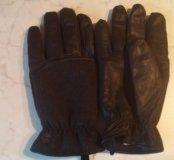 Новые мужские перчатки Timberland на флисе