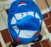 Рюкзачек детский плюшевый