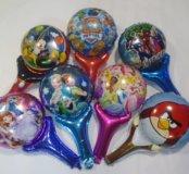Фольгированные шарики 45-70 см.