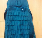 Платье б/у для девочки на 10 лет