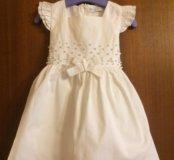 Нарядное платье для девочки 1-2г