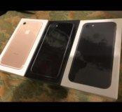 New iPhone 7, 128гб, (black, jet black, gold)