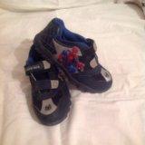 Детские ботинки с человеком-пауком