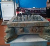 Шахматы,ручная работа