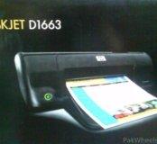 Принтер deskjet d1663