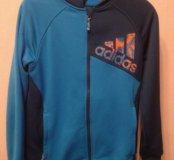 Adidas оригинальная спортивная кофта для мальчика